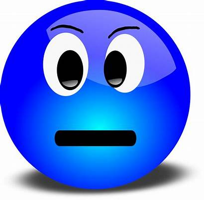 Face Smiley Clipart Angry Grumpy Clip Faces