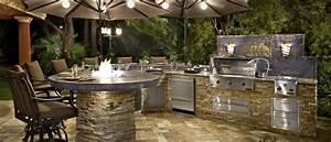 Bar Exterieur Design : barbecue ext rieur dans votre espace l 39 id e vous tente ~ Melissatoandfro.com Idées de Décoration