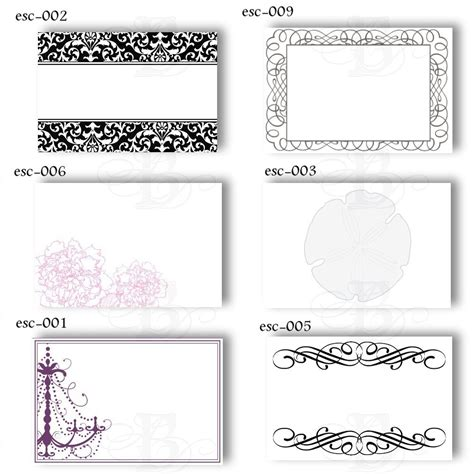 elegant fun printable place cards kittybabylovecom