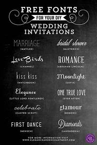 free fonts for diy wedding invitations With wedding invitation font online