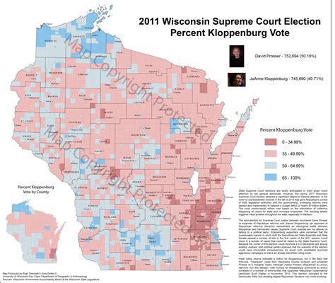 wisconsin election maps  results university