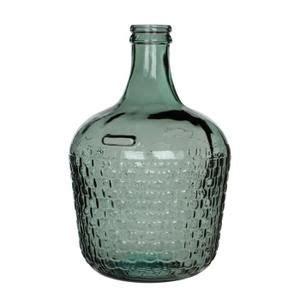 mica bouteille verre diego gris 216 27 x h 42 cm le salon de mes r 234 ves cdiscount in 2019