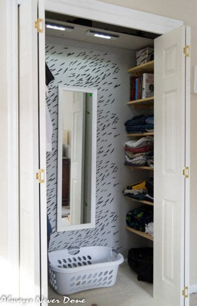 creating closet space in small bedroom how to make the most out of a small closet in 2019 diy 20430 | ac685e7ceaef306c22a19a22ee90ae66