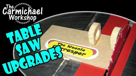 table saw stops dog craftsman contractor table saw upgrades sawstop dog