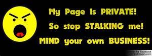 Stop Stalking Quotes. QuotesGram