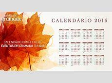 Calendário completo de eventos em Gramado em 2016