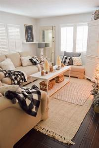 Cozy, Cottage, Winter, Living, Room, Decorating, Ideas