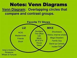 Ppt - Notes  Venn Diagrams Powerpoint Presentation