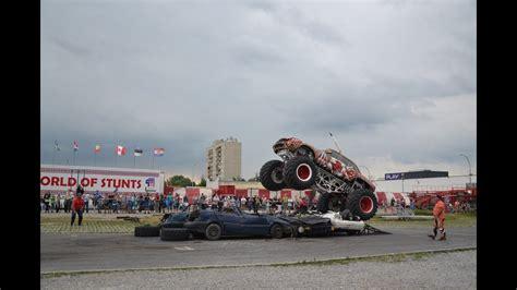 youtube monster truck show american monster truck motor show w tarnobrzegu youtube