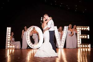 light up love sign wedding letter hire With large love letters for wedding