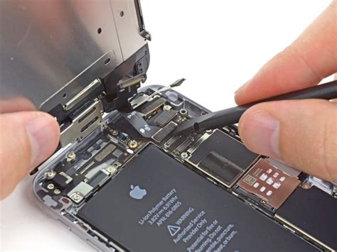 replace  iphone  battery ifixit repair guide