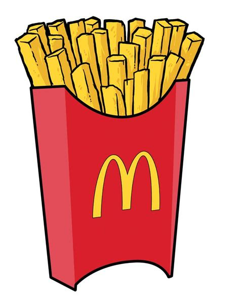 Mcdonalds Clipart Mcdonald S Clipart Favorite Food Pencil And In Color