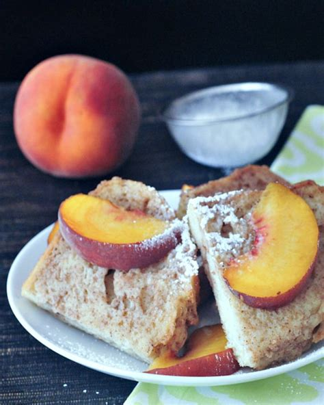 Peaches Cream French Toast Spabettie