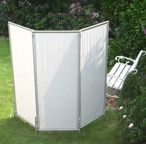 Paravent Garten Wetterfest : sichtschutz paravents als mobile werbefl chen mit textilem stoffdruck ~ Orissabook.com Haus und Dekorationen