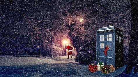 Christmas Wallpaper Doctor Who
