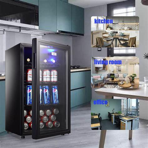 mini fridge beverage refrigerator  cooler