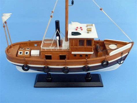 Model Boat Knots by Buy Wooden Knot Working Model Fishing Boat 16 Inch Model