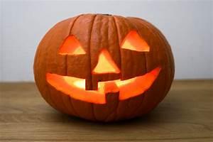 Tete De Citrouille Pour Halloween : r aliser une citrouille lumineuse pour halloween pal o r gime ~ Melissatoandfro.com Idées de Décoration