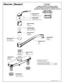 american standard reliant kitchen faucet american standard faucet parts faucets reviews