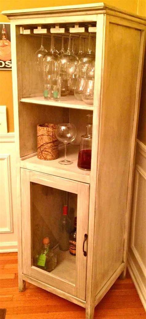 ana white liquor cabinet  benchmark storagemedia unit diy projects
