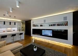 Wohnzimmer Lampen Decke : indirekte beleuchtung an decke 68 tolle fotos ~ Indierocktalk.com Haus und Dekorationen