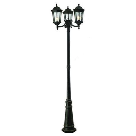 innova lighting led 3 light outdoor l post and