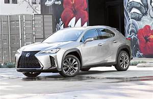 2019 Lexus UX small SUV emerges in US trim, hybrid included, at NY auto show