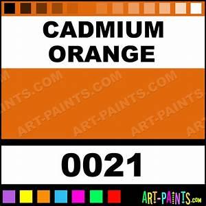 Cadmium Orange Interactive Acrylic Paints - 0021 - Cadmium ...