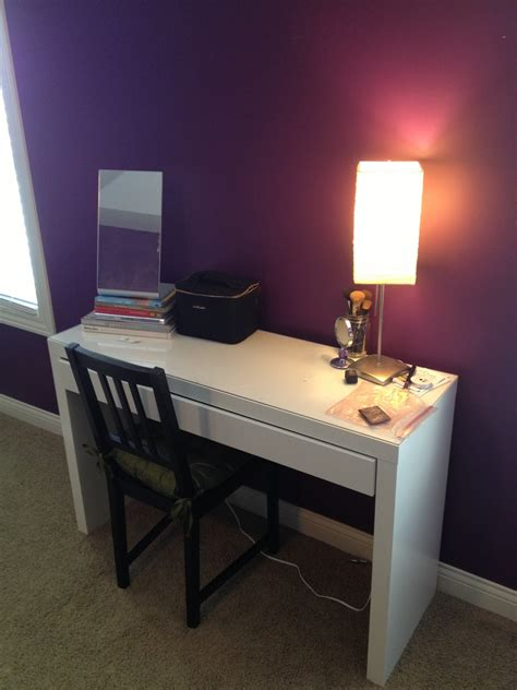 makeup desk with our styled suburban life makeup additions