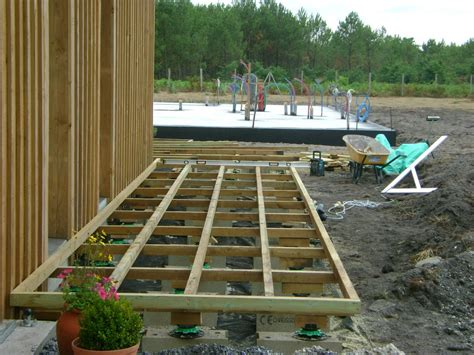 cuisine ete exterieur pose terrasse bois landes 40 terrasse en bois blanc