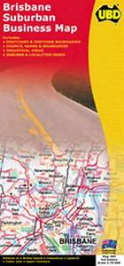 Ubd Brisbane Suburban Business Map 465  3rd Edition