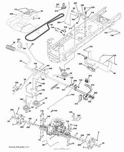 Husqvarna Lgt2654 Drive Belt Diagram