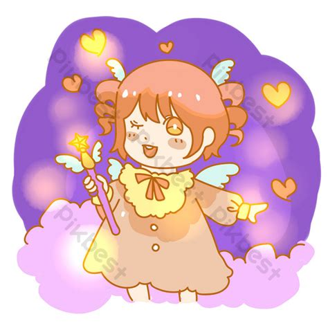 girl holding  magic wand png images psd