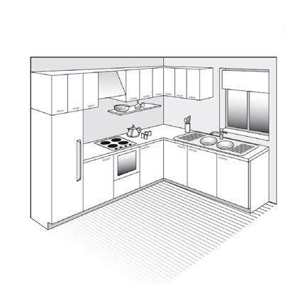 Plan De Cuisine Ouverte  Idées Décoration Intérieure