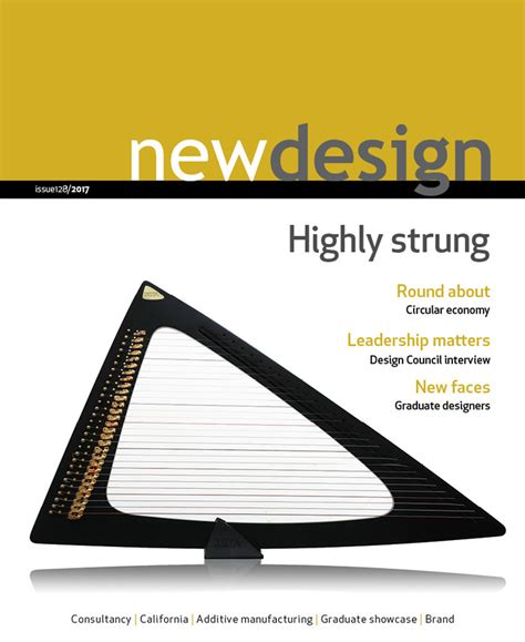 new design magazine newdesign the design magazine for insight innovation inspiration