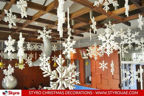 styro christmas decorations dubai abu dhabi sharjah uae