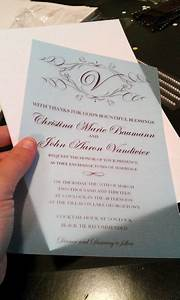 how to make your own wedding invitations for under 50 With how to assemble wedding invitations with ribbon