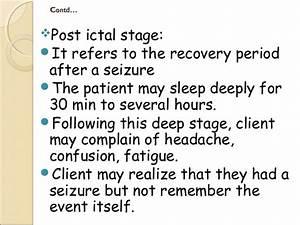 Epilepsy (seizure disorder)