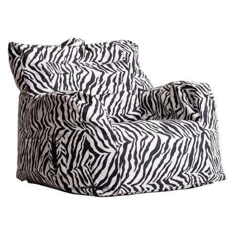 Kids Sofa Chair And Ottoman Set Zebra