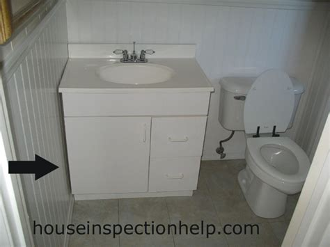bathroom cabinet and sink