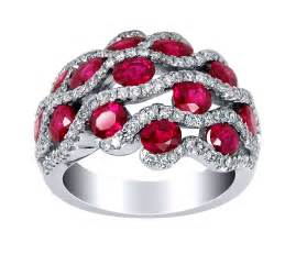 gold rings design for men burmese ruby ring with pave set diamonds