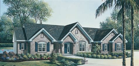 traditional house plan    bedrm  sq ft home