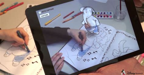Disney's 3d Coloring Books Will Let You Color Way Outside