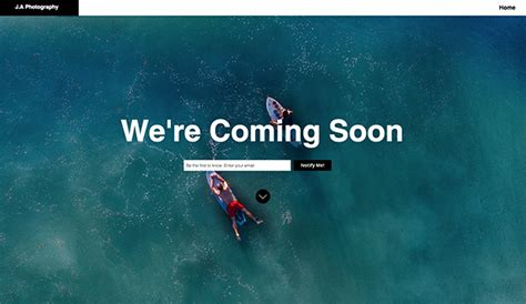 Coming Soon Web Page Templates by Coming Soon Website Templates Landing Pages Wix