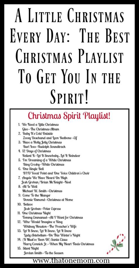 the best christmas playlist to get you in the spirit