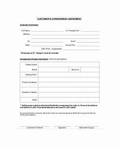 consignment contract template employment agreement With consignment shop contract template