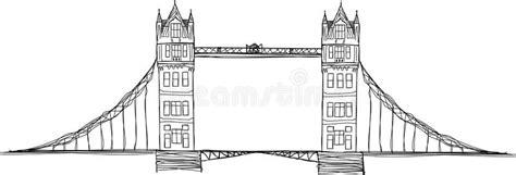 Tower bridge illustration stock illustration. Illustration ...