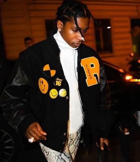 asap rocky hits paris fashion week  alyx pants
