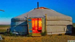 Traditional Portable Habitation | Mongolian Yurt, Ger ...