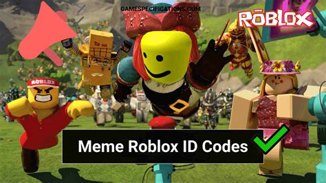 Using song ids, you can play your favourite tiktok songs in games with your friends. 60+ Meme Roblox ID Codes 2021 - Game Specifications